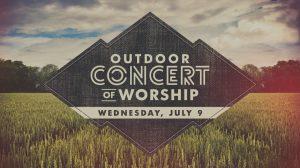 14 Outdoor Concert of Worship