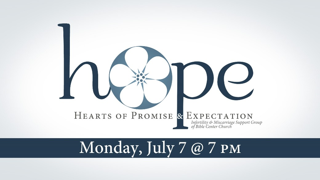 HOPE Support Group (Date Change)
