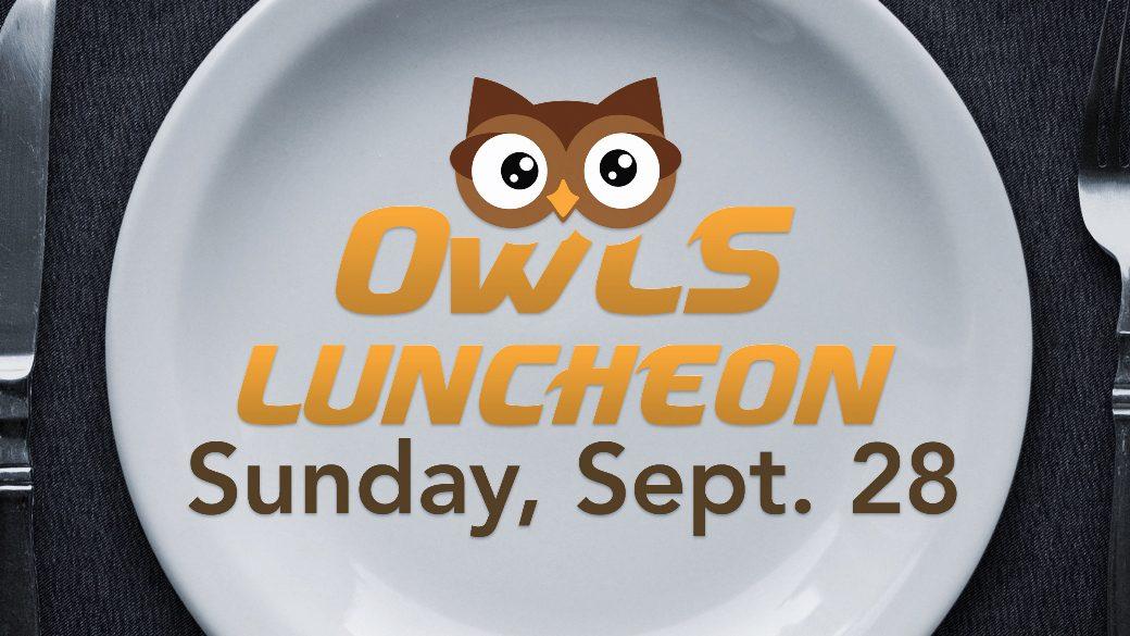 OWLS Fall Luncheon (55+)
