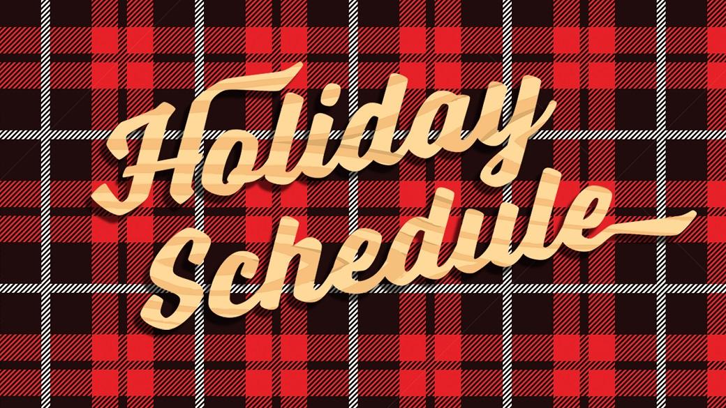 Holidays at Bible Center