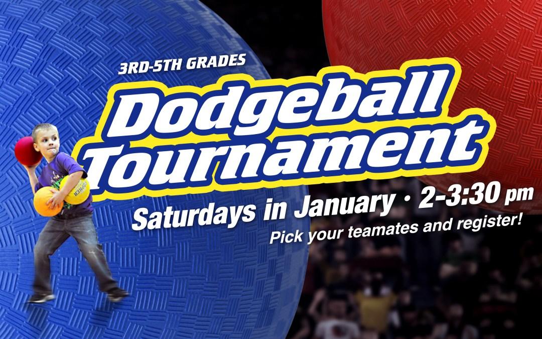 Dodgeball Tournament (3rd-5th)