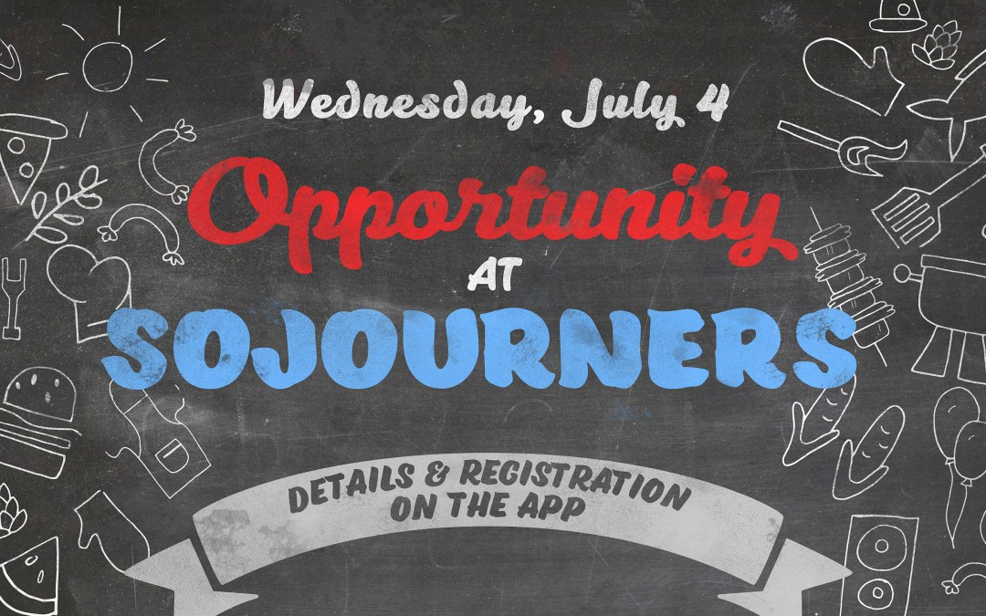 Opportunity at Sojourners