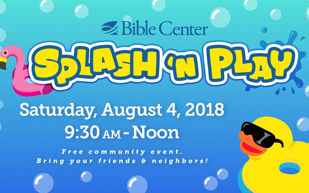 Community Splash & Play