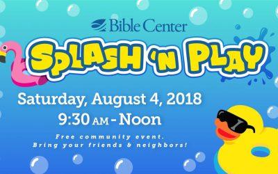 Community Splash 'n Play Volunteers