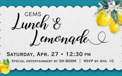GEMS Lunch & Lemonade