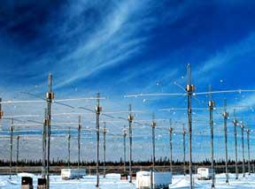 site HAARP en hiver