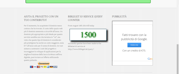 1500 query effettuate! e plugin Open Office in via di sviluppo
