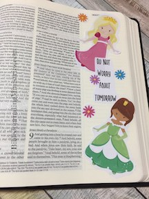 stickers in my bible