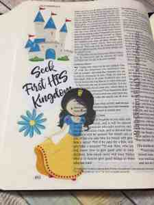 stickers in your bible