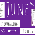 June Bible Journaling Freebies Are Here!!!