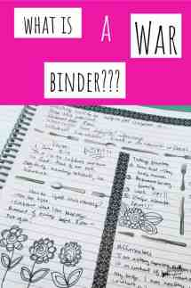 what is a war binder