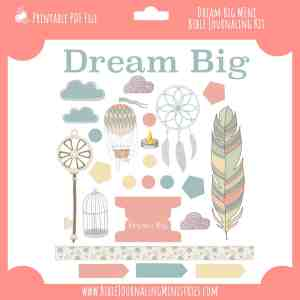 dream big devotional mini kit