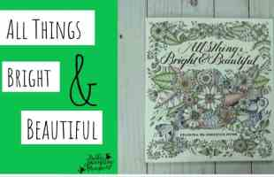 Enter to Win All Things Bright and Beautiful Coloring Book