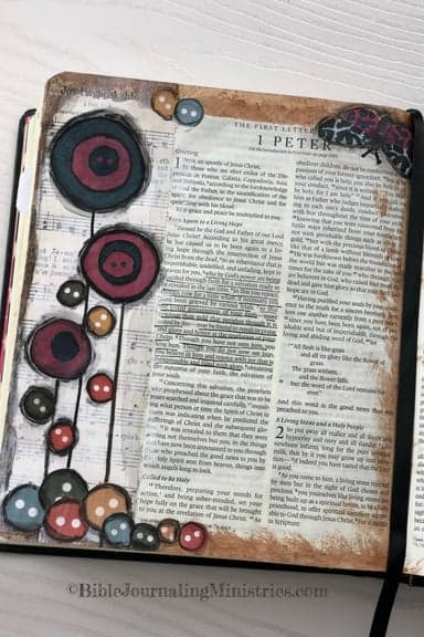 Bible journaling deals archives bible journaling ministries joining the a joyful heart bible journaling study 1 peter 15 8 fandeluxe Choice Image