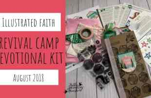 Illustrated Faith Revival Camp Devotional Kit August 2018