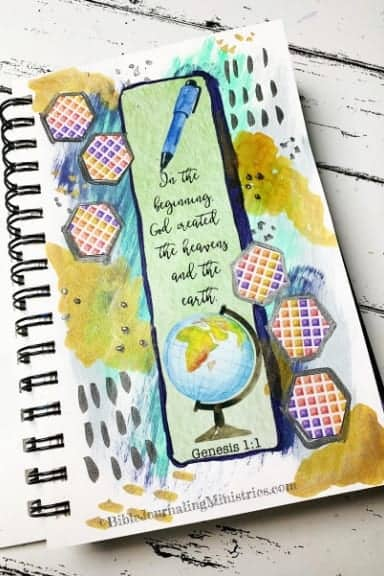 Faith Art Journaling Genesis