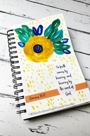 Faith Art Journaling Romans