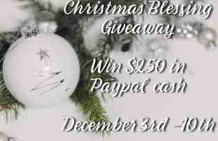 Winter BLESSING GIVEAWAY 2018