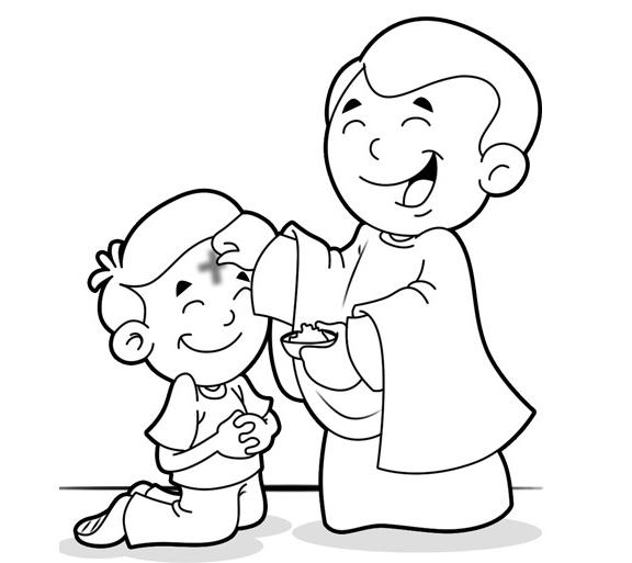 ash wednesday coloring pages # 5