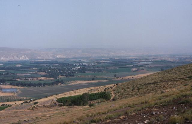 The Jordan River Valley