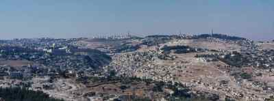 Hills surrounding Jerusalem