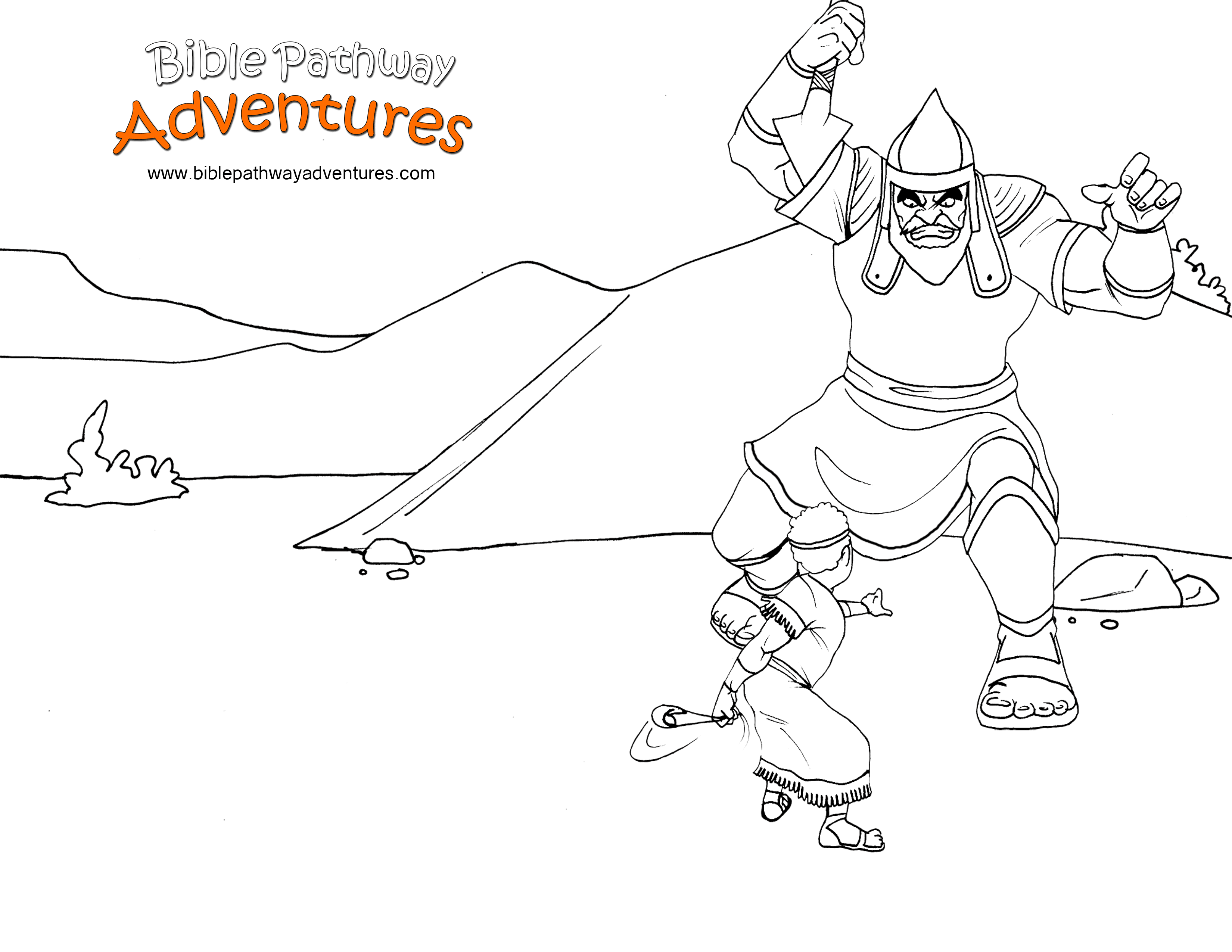 Free Bible Story Coloring Page