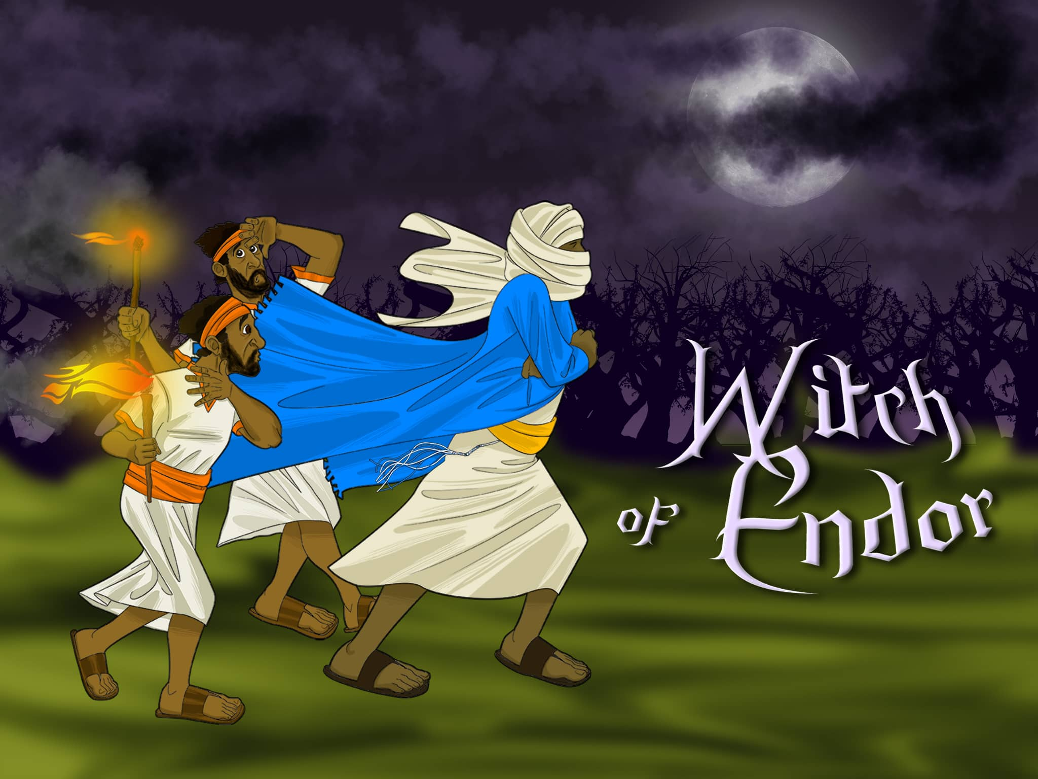 Bible Story For Kids Witch Of Endor