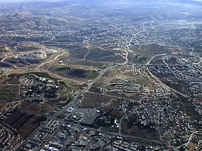 Foto aérea de Belen (la ciudad de David)
