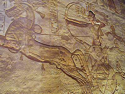 Battle Of Kadesh - Rameses II in Chariot