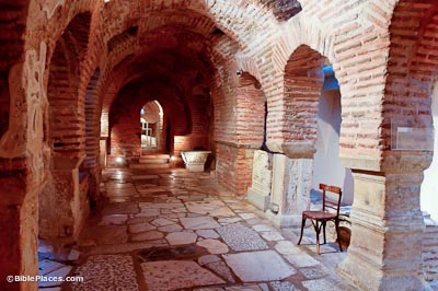 Thessalonica Church of St. Demetrios Roman baths