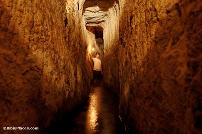 Bilderesultat for Hezekiah's tunnel
