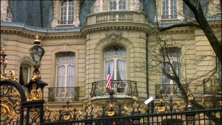The American Embassy in Paris