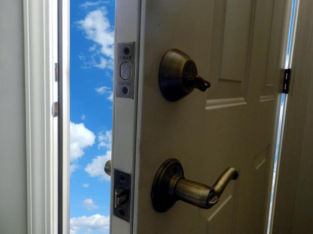 Jesus Opened the Door to Heaven