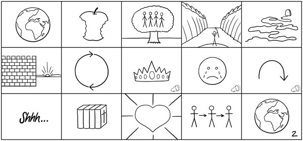 The 15 Bible StoryBoards
