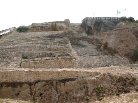 More of the ruins at ancient Ashkelon