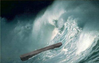 The Flood resembles the statement in Gen. 1:2