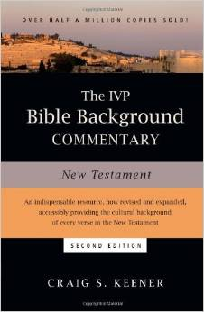 New Testament Bible Background Commentary from IVP Academic