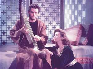 Gregory Peck and Susan Hayward starred in one of Hollywood's versions of the David and Bathsheba story.