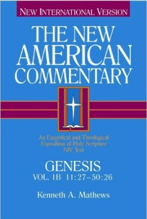 This 2-volume Genesis commentary by Mathews is available at Amazon USA / UK