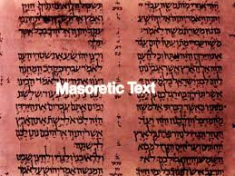 The Masoretic text is the traditional Hebrew text copied by scribes known as the Masoretes.