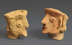 archaeological discoveries--figurines from tel motza