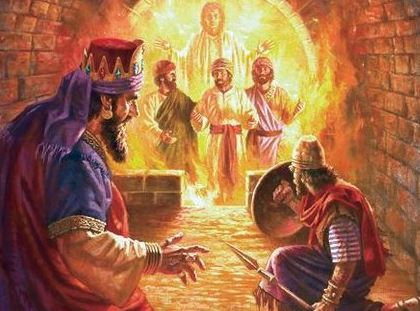 revolutionary revelation--3 men in the fiery furnace