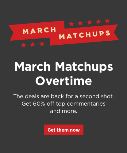 Logos March Matchups Overtime