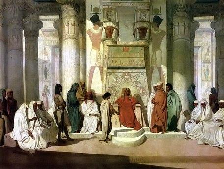Joseph in Pharaoh's court