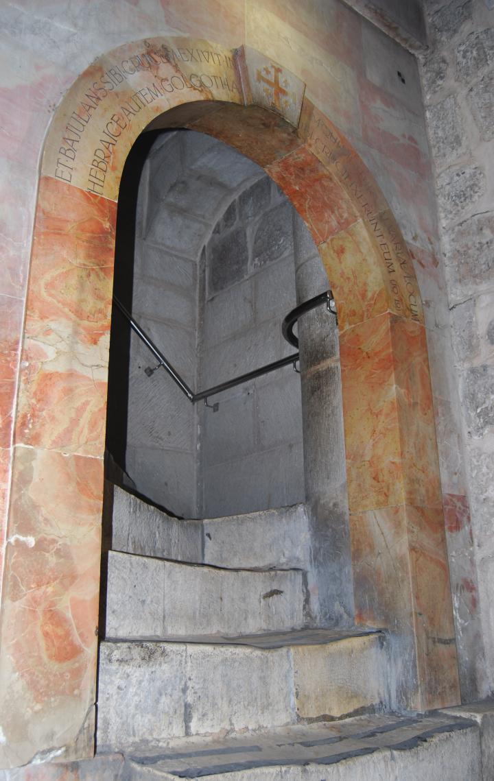 Stairway to Golgotha