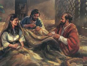 Apostle Paul, Aquila and Priscilla in Ephesus