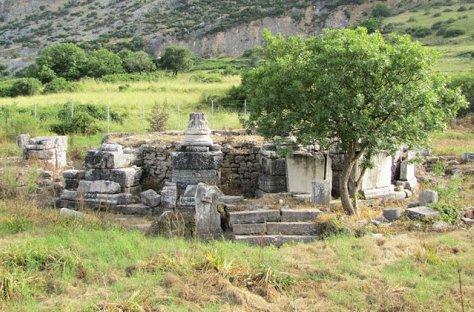 Grave of Saint Luke in Ephesus