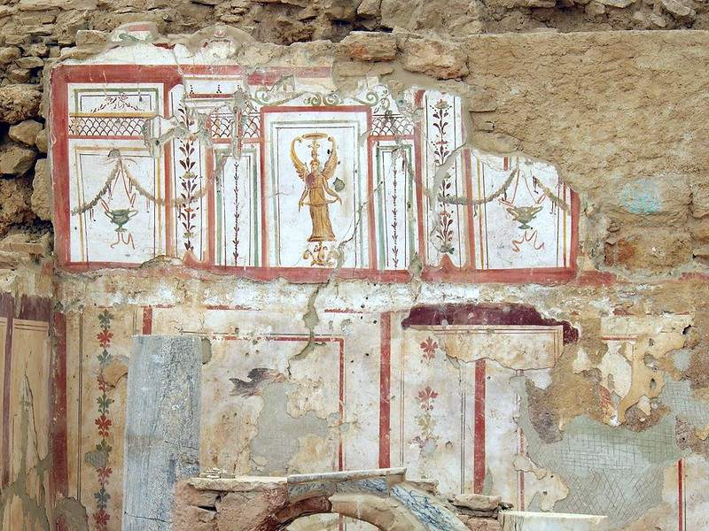 Nike Frescoes at the Terrace Houses of Ephesus