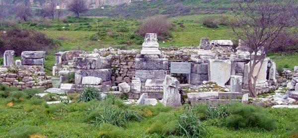 Tomb of Saint Luke in Ephesus Turkey