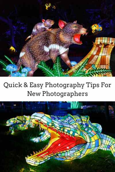 Quick & Easy Photography tips for new photographers